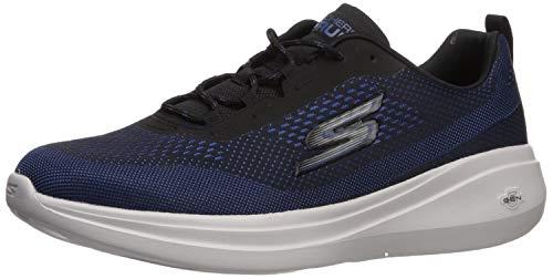 Skechers - Zapatillas cómodas de tela, color azul