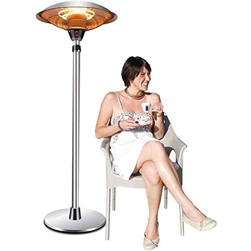 XKRSBS Außenschirm Elektroheizung Edelstahl Regenschirm Gartenterrasse Hotel Außenheizung Halogenrohr Elektroheizung,3000w