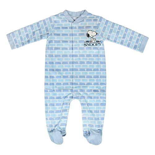 ARTESANIA CERDA Pelele Single Jersey Snoopy Bebés