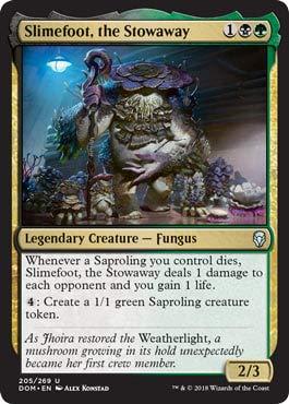 Slimefoot, The Stowaway - Dominaria
