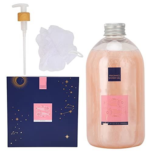 Gel de ducha, Limpiadores corporales Limpieza de la piel Humedad profunda Limpiador de ducha cremoso Fragancia floral 550ML