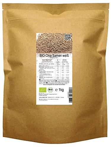BIO las semillas blancas de Chía ( «Salvia hispanica» ) 1kg