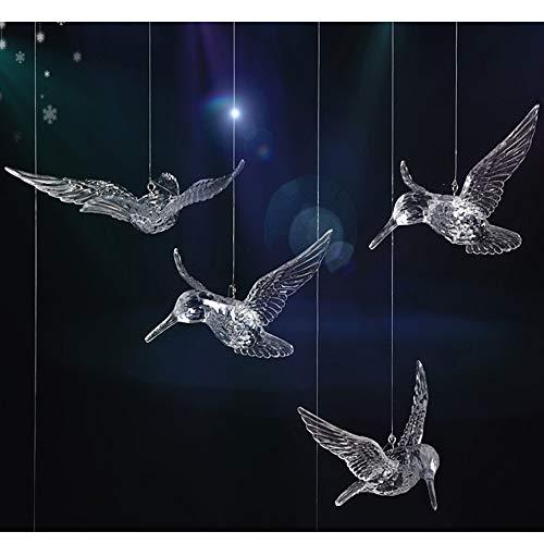 NUPTIO 30 Stücke DIY Fliegenden Vogel Dekorative Decke Hängen Ornamente Weihnachtsbaum für Zuhause Kindergarten Einkaufszentrum zu Hause Tisch Fenster Natur Dekoration