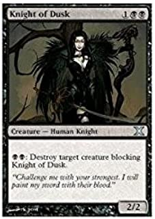 Magic: the Gathering - Knight of Dusk (152/383) - Tenth Edition