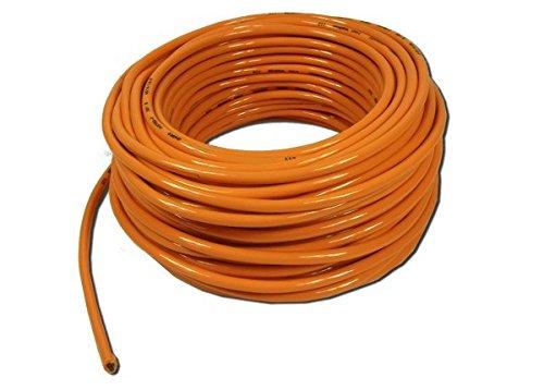 Schlauchleitung H07BQ-F 3 x 1,5 mm² 50 Meter -Orange-