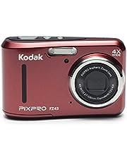 Kodak Pixpro FZ43 digitale camera, 16,44 megapixels, 4x optische zoom, 1 x Polsband, Zwart, Standard