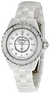 Chanel Women's H2570 J12 Diamond Dial Watch Check Prices and Online and review