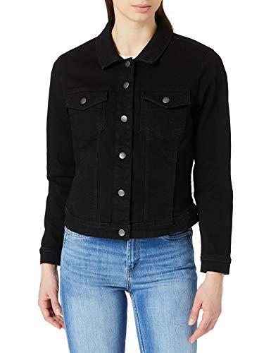 ONLY Carmakoma Damen Carwespa Life Ls Jacket Bb Pim004 Jeansjacke, Black, 48