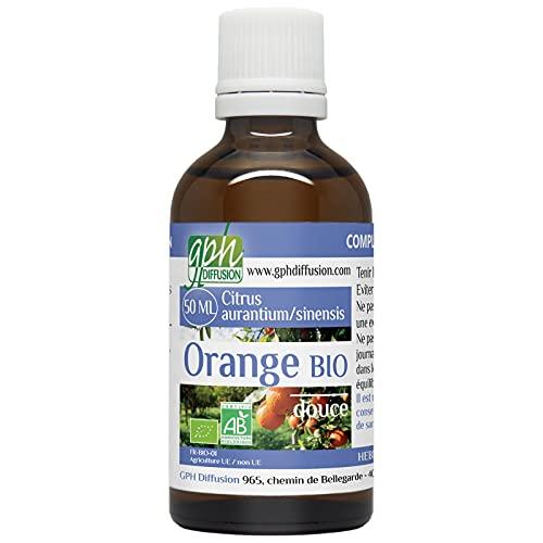 Orange Douce Bio (Citrus sinensis) - Huile Essentielle 50ml
