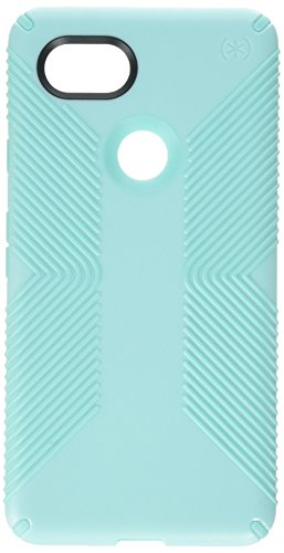 Speck Products Presidio Grip Cell Phone Case for Google Pixel 2 XL - Surf Teal/Mykonos Blue