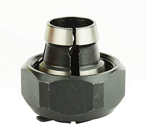 Gadgetool 42950 1/2- inch Router Collet Fit for PORTER CABLE models, Delta, B&D