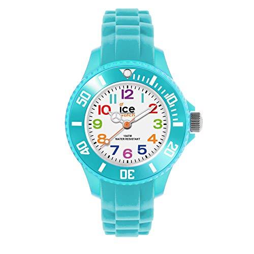 Ice-Watch - ICE mini Turquoise - Türkise Jungen/Unisexuhr mit Silikonarmband - 012732 (Extra small)