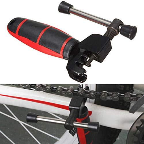 Fahrradketten-Werkzeug Fahrrad Kettennieter mit Kette Haken Kettennieter Reparatur, Fahrrad-Kette Splitter Cutter Breaker Fahrrad entfernen und installieren Breaker Spliter Kette Kettenwerkzeug