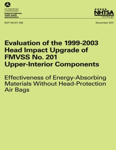 Evaluation of the 1999-2003 Head Impact Upgrade of FMVSS No. 201 ? Upper-Interior Components: Effect