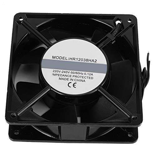 LANTRO JS Ventiladores de refrigeración de computadora AC220V ‑ 240V 0.12A para computadoras de Escritorio de 120 mm