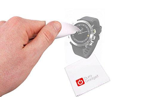 DURAGADGET Gamuza Limpiadora para Smartwatch Cogito Classic - ¡Olvídese De La Suciedad Que Dejan Los Dedos!