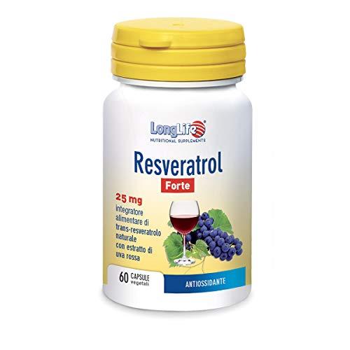 Longlife Resveratrol Forte 25 Mg - 40 Gr