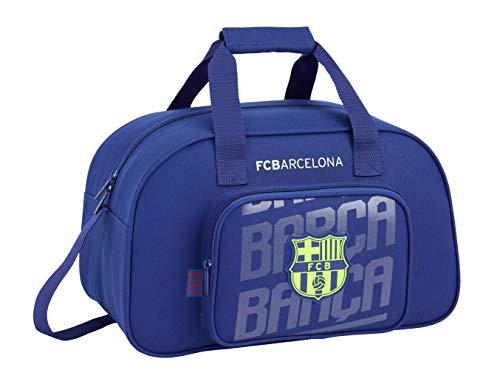 FC Barcelona 2018 Kinder-Sporttasche, 40 cm, 22 liters, Blau (Azul)