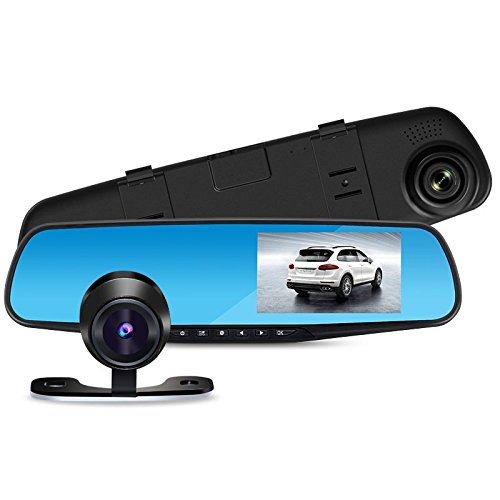 Full HD Automobile Data Recorder Mini/Rearview Mirror Vehicle Traveling Data Recorder in Night/Full HD GPSGSM Best buys