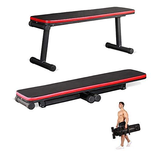 KKDWJ Faltbare Hantelbank, Verstellbarer Hantel-Fitness-Hocker Sit-up-Fitness-Sitzbänke mit rutschfestem Design, Bauchmuskeltrainings-Workout-Bank Home Gym-Ausrüstung Gewichte für Männer/Frauen