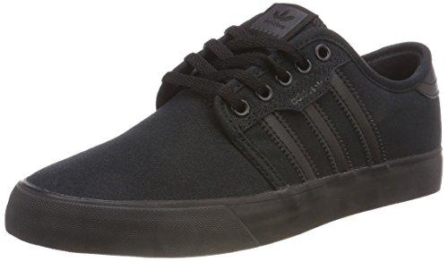 Adidas Seeley Aq8531, Zapatillas de Skateboard Hombre, Negro (Core Black/Core Black/Core Black 0), 40 2/3 EU