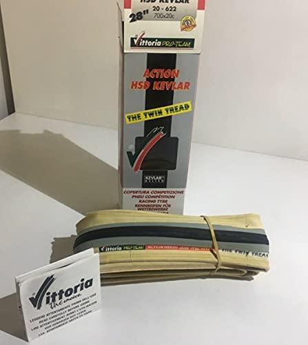 VITTOR Par de neumáticos Action HSD Kevlar 700 x 20C gris negro