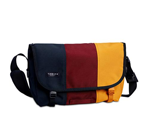 Timbuk2 Classic Messenger 1108 Damen,Herren Messenger Bag,Umhängetasche,Cross-Body Bag,Cool,Lässig,Hipster,Vintage,Retro,Freizeit,14l (Liter),Bookish, S