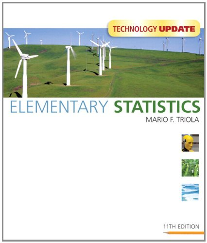 Elementary Statistics Technology Update 11th Ed + Mystatlab including StatCrunch