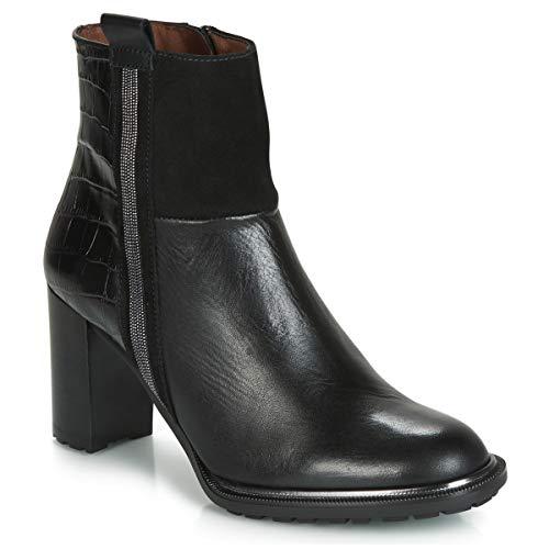 HISPANITAS INES Enkellaarzen/Low boots dames Zwart Enkellaarzen