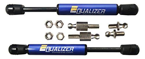 TH Marine Gforce Equalizer MotorGuide Trolling Motor Stabilizer Kit, Blue