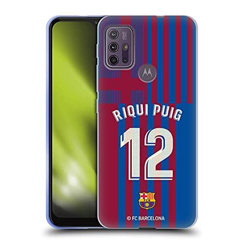 Head Case Designs Licenciado Oficialmente FC Barcelona Riqui Puig 2021/22 Jugadores Inicio Kit Grupo 2 Carcasa de Gel de Silicona Compatible con Motorola Moto G10 / Moto G30