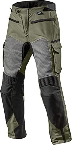 Revit Cayenne Pro 2015 - Pantalones de tela (talla L), color verde y negro