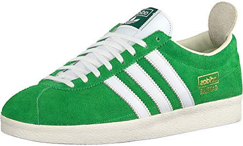 Adidas - Gazelas vintage EF5577 semiFlash Green Cloud White Off White (US 6.5 - Green)
