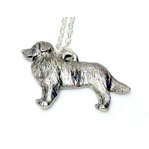 Border Collie Dog Necklace 1531