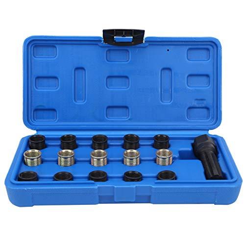 Herramienta de reparación de enchufes, herramienta de reparación de roscas, reparación de automóviles de acero al carbono de alta eficiencia para reparación de roscas