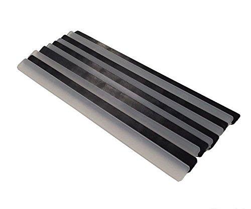 Holmenkol Belag-Reparatur Belagsausbesserung Profi Ausbesserungsstreifen FX Strips schwarz und transparent