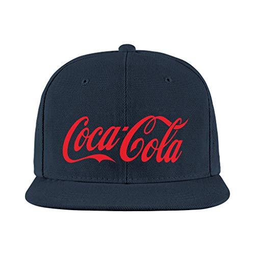 Depaga Mens Womens Hip Hop Trucker-Cocacola-Baseball Cap Lightweight Hat Sport Adjustable Navy