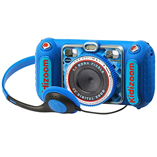 VTech- Kidizoom Duo DX Cámara Digital Para Niños, Color azul (3480-520022)