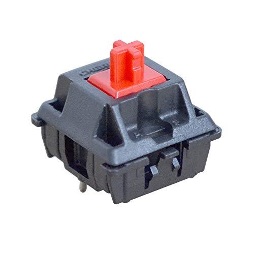 Interruptores Cherry MX Red Key (10 Piezas)- MX1AG1NN | Montaje en placa | Interruptores táctiles para teclado mecánico.