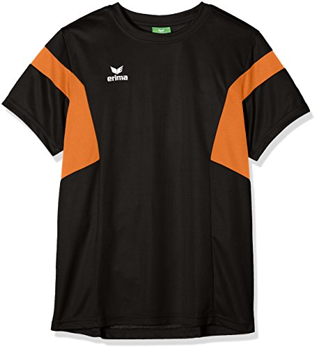 Erima Kinder Classic Team T-Shirt, schwarz/Orange, 128