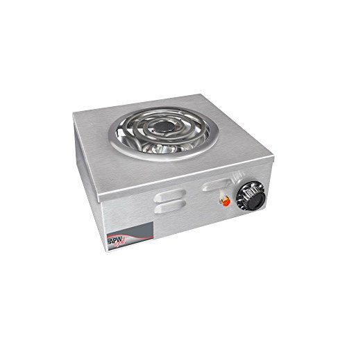 APW Wyott Porta Stove Electric Portable Hot Plate, 7.125 x 12.75 x 12.75 inch - 1 each.