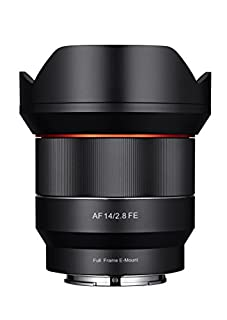 Samyang SYIO14AF-E 14mm F2.8 Full Frame Auto Focus Lens for Sony E-Mount, Black (B074V6V4KW) | Amazon price tracker / tracking, Amazon price history charts, Amazon price watches, Amazon price drop alerts
