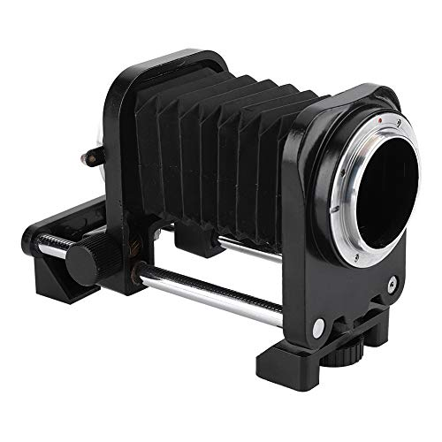 Comodidad: Fuelle Macro Profesional, Fuelle Macro para Lentes de Montura Nikon F, Negro Resistente para cámaras Nikon, Sony, Canon DSLR.(For Nikon)