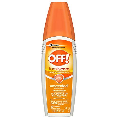 OFF! FamilyCare Insect Repellent IV (Unscented) 6 fluid oz by OFF!