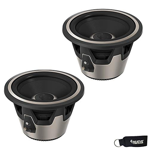 """Infinity - Two Kappa 10"""" (250mm) 450Watt RMS High-Performance Subwoofers, Switchable 2 OR 4 OHM"""