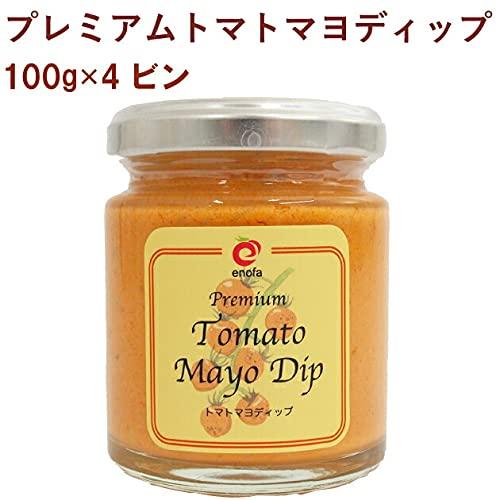 エノファ プレミアムトマトマヨディップ 100g 4個