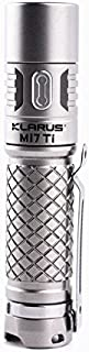 Klarus Mi7 TI Mini-Might EDC Flashlight - CREE XP-L HI V3 LED - 700 Lumens - Titanium Body - Uses 1 x AA (Included) or 1 x...