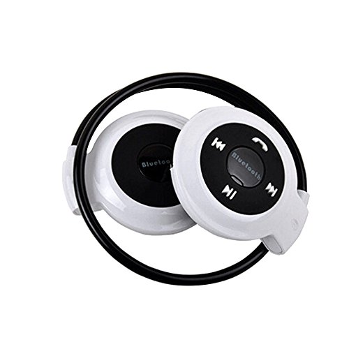 ByedogMini-503 Bluetooth V2.1+ EDR Stereo Behind-The-Neck Wireless Type Headset Stereo Earphone (White)