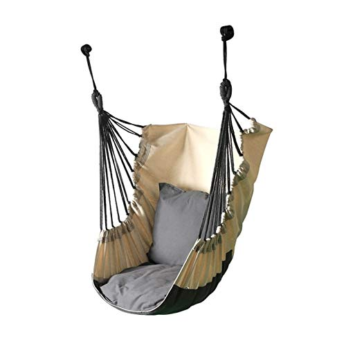 ZXJTX Activities and entertainment Swing Seat Children's Swing Indoor And Outdoor Courtyard Hanging Chair Room Bedroom Hammock Door Frame Cradle Bed Home Swing Play Tents & Preschool Outdoor Toys