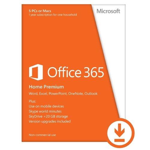 Microsoft Office 365 Home Premium - Suites de programas (Eurozone, Plurilingüe, Electronic Software Download (ESD))